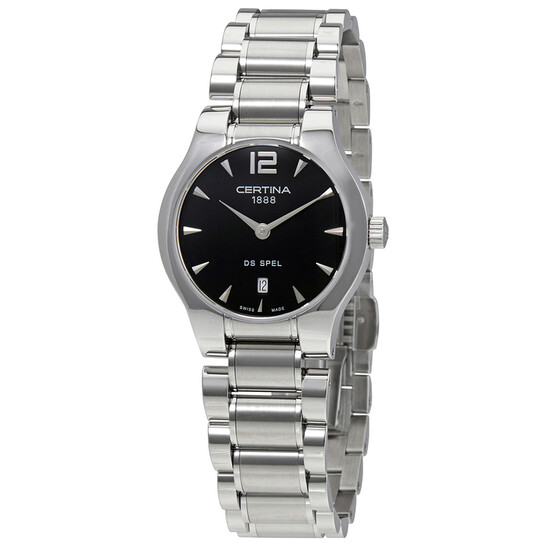 Certina DS Spel Lady Round Stainless Steel Ladies  Quartz Watch C0122091105700 | Joma Shop