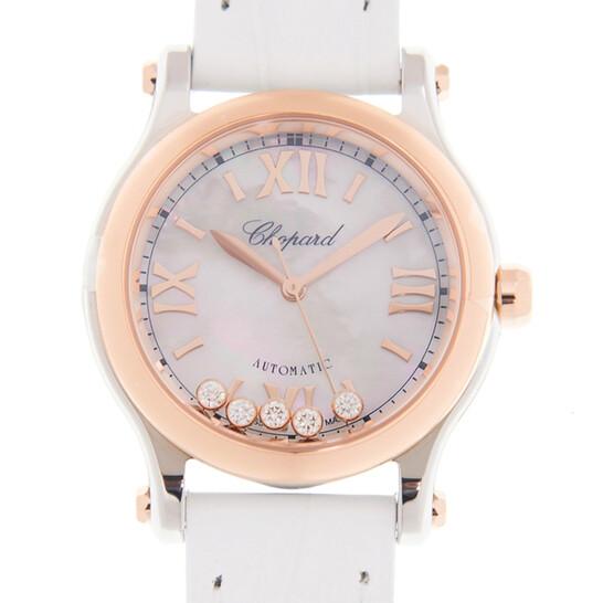 Chopard Happy Sport Automatic Ladies Watch 278573 6018 | Joma Shop