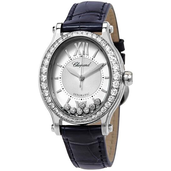 Chopard Happy Sport Diamond White Dial Ladies Watch 278602-3003   Joma Shop