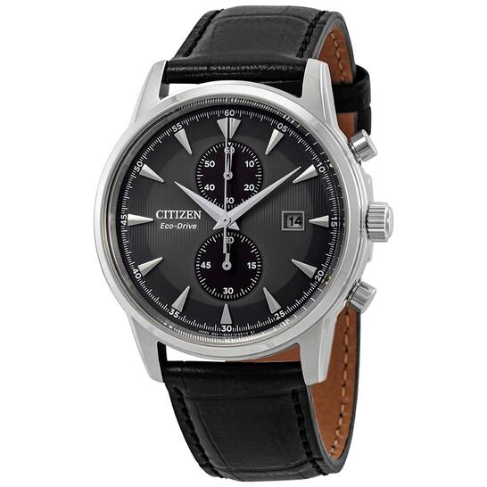 Citizen Corso Eco-Drive Chronograph Grey Dial Men's Watch CA7000-04H | Joma Shop