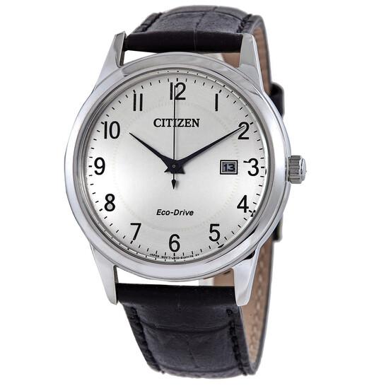 Citizen Corso Eco-Drive Silver Dial Men's Watch AW1231-07A | Joma Shop