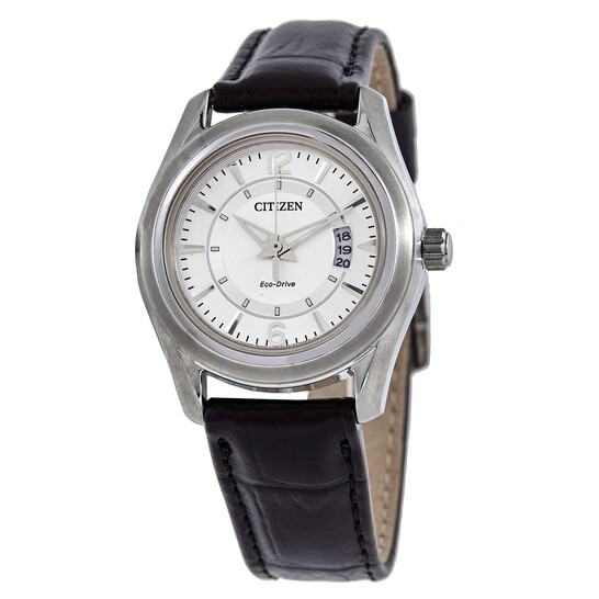 Citizen Eco-Drive Silver Dial Ladies Watch FE1011-03B | Joma Shop