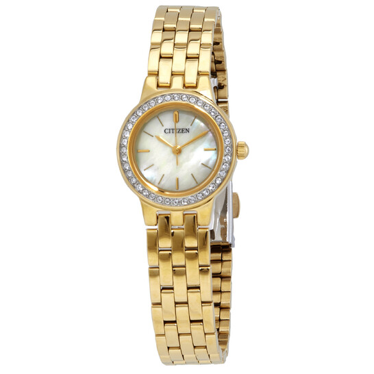 Citizen Mother of Pearl Dial Ladies Watch EJ6102-56D | Joma Shop