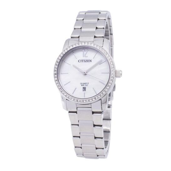 Citizen Quartz Mother of Pearl Dial Ladies Watch EU6030-81D | Joma Shop