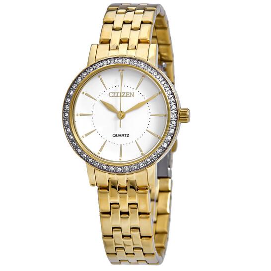 Citizen Quartz White Dial Ladies Watch EL3042-84A   Joma Shop