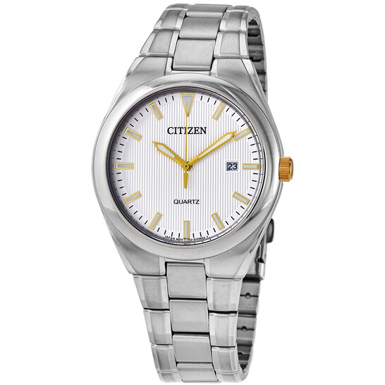 Citizen Quartz White Dial Men's Watch BI0959-56A   Joma Shop