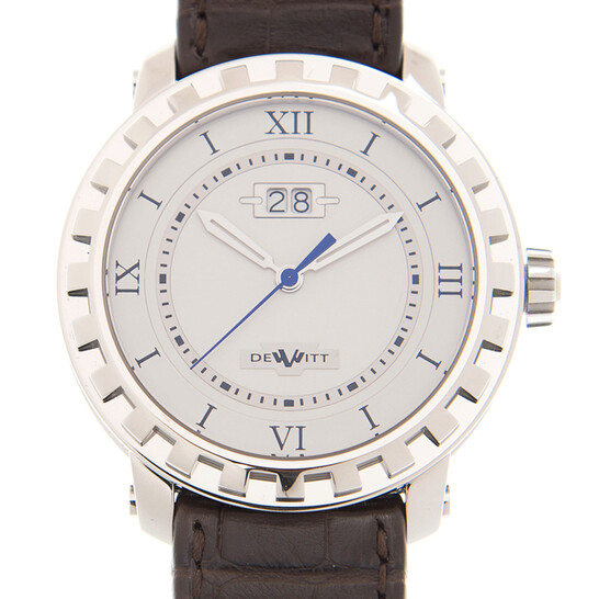 Dewitt Academia Automatic White Dial Unisex Watch NACGDE003RFB | Joma Shop