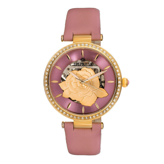 Empress Anne Automatic Pink Dial Ladies Watch EMPEM3103 | Joma Shop