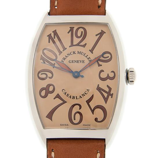 Franck Muller Cintree Curvex Automatic Brown Dial Unisex Watch 6850BCSHR(AC)-PK | Joma Shop