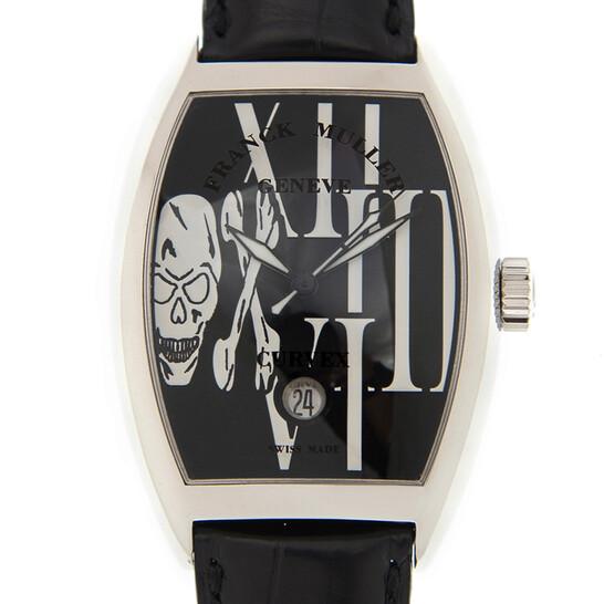 Franck Muller Cintree Curvex Skulls Automatic Black Dial Unisex Watch 7880SCDTGOTH(AC)-BK | Joma Shop
