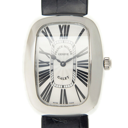 Franck Muller Galet Quartz Silver Dial Ladies Watch 3002MQZR(AC) | Joma Shop