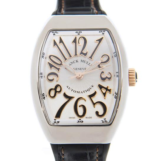 Franck Muller Vanguard Quartz White Dial Ladies Watch V32SCATFOSTG(ACNR) | Joma Shop