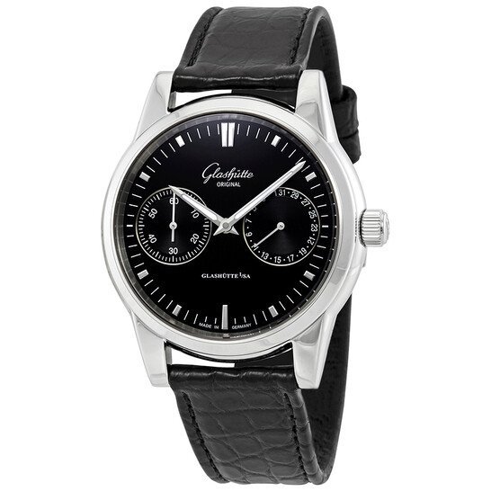 Glashutte Senator Hand Date Automatic Men's Watch 1-39-58-01-02-04   Joma Shop