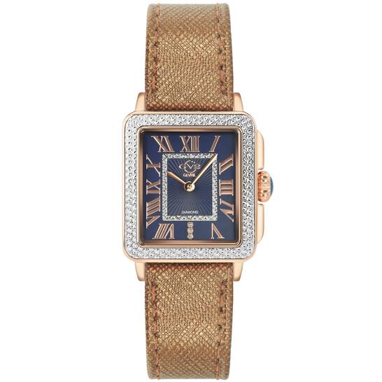 Gv2 By Gevril Padova Quartz Diamond Ladies Watch (12300)