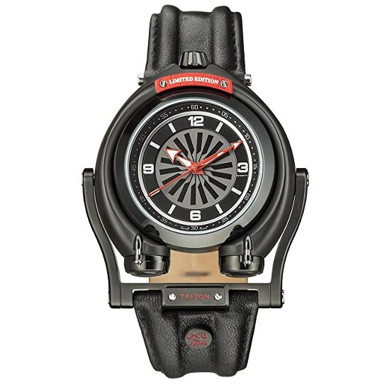 Gv2 By Gevril Triton Black Dial Automatic Men's Watch (3401)