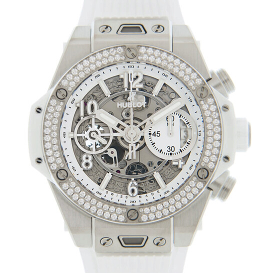 Hublot Big Bang Chronograph Automatic Diamond Silver Dial Men's Watch 441.NE.2010.RW.1104 | Joma Shop