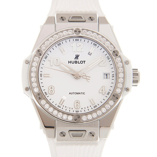 Hublot Big Bang One Click Automatic Diamond White Dial Ladies Watch 465.SE.2010.RW.1204   Joma Shop