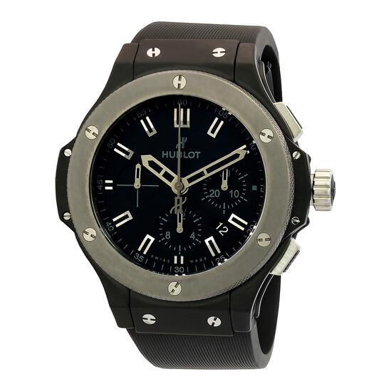 Hublot Black Dial Rubber Automatic Men's Watch 301.CK.1140.RX   Joma Shop