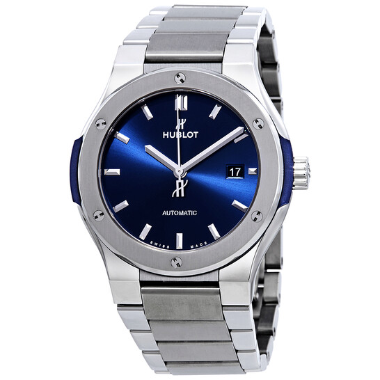 Hublot Classic Fusion Automatic Blue Dial Men's Watch 548.NX.7170.NX   Joma Shop
