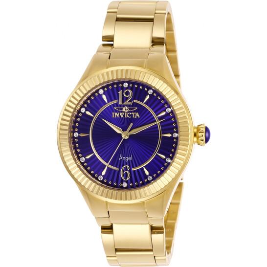 Invicta Angel Crystal Blue Dial Ladies Watch 28281 | Joma Shop