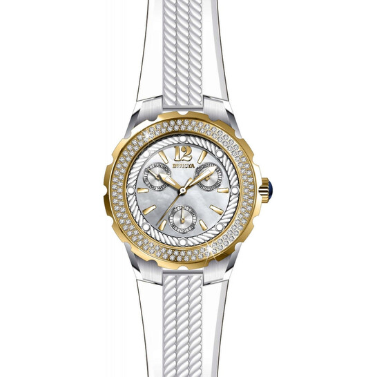 Invicta Angel Crystal White Dial Ladies Watch 29089   Joma Shop