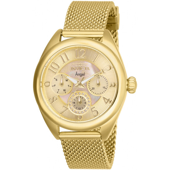 Invicta Angel Gold Dial Ladies Watch 27455   Joma Shop