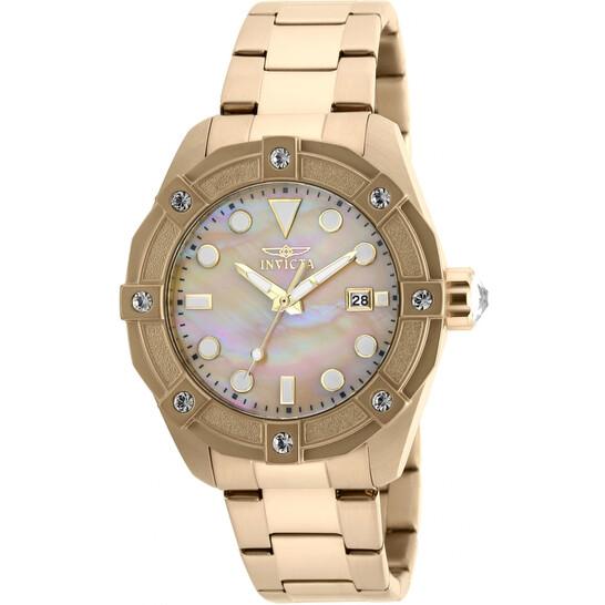 Invicta Angel Gold Oyster Dial Ladies Watch 20319 | Joma Shop