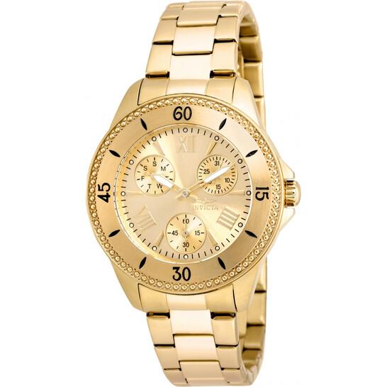 Invicta Angel Ladies Gold Tone Watch 21683   Joma Shop