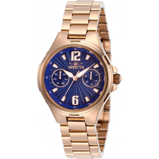 Invicta Angel Quartz Blue Dial Ladies Watch 29151 | Joma Shop