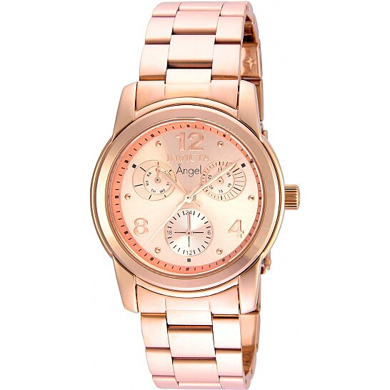 Invicta Angel Rose Dial Ladies Watch 21687   Joma Shop