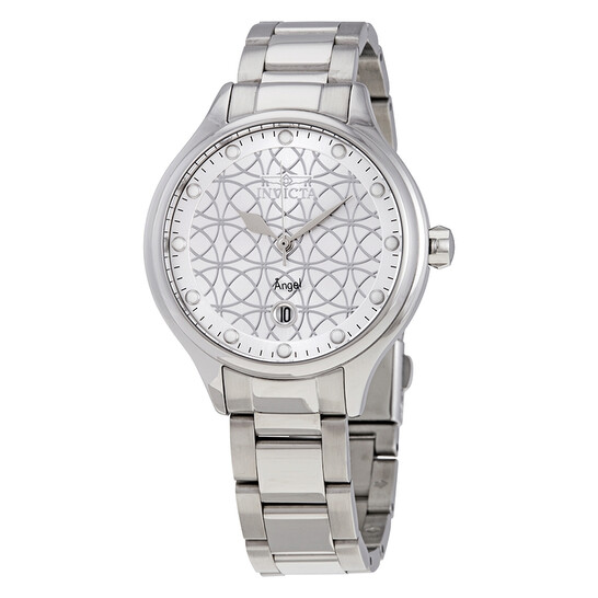 Invicta Angel White Mother of Pearl Dial Ladies Watch 27437 | Joma Shop