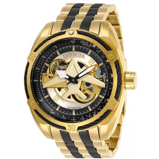 Invicta Aviator Automatic Gold Dial Men's Watch 28205 | Joma Shop