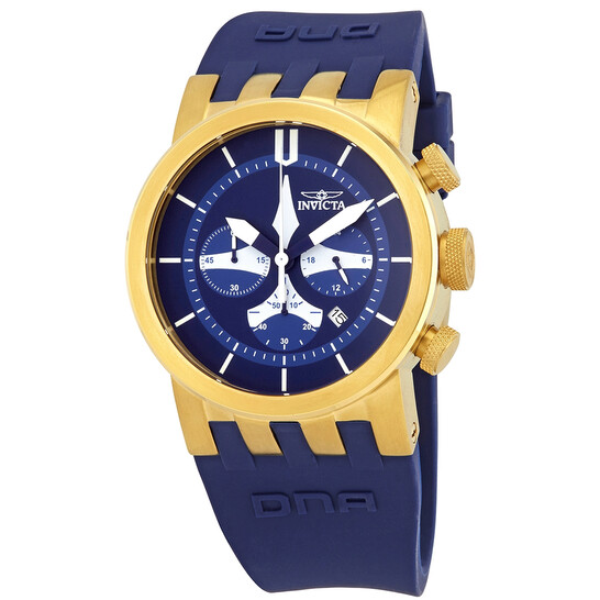 Invicta DNA Blue Dial Chronograph Men's Watch 25059   Joma Shop