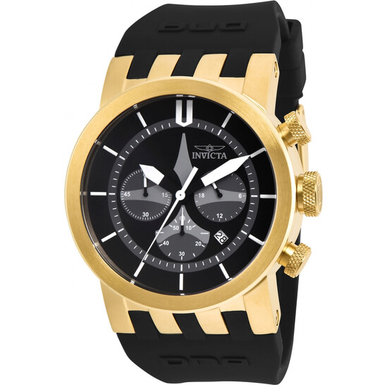 Invicta DNA Chronograph Quartz Black Dial Men's Watch 25058 | Joma Shop
