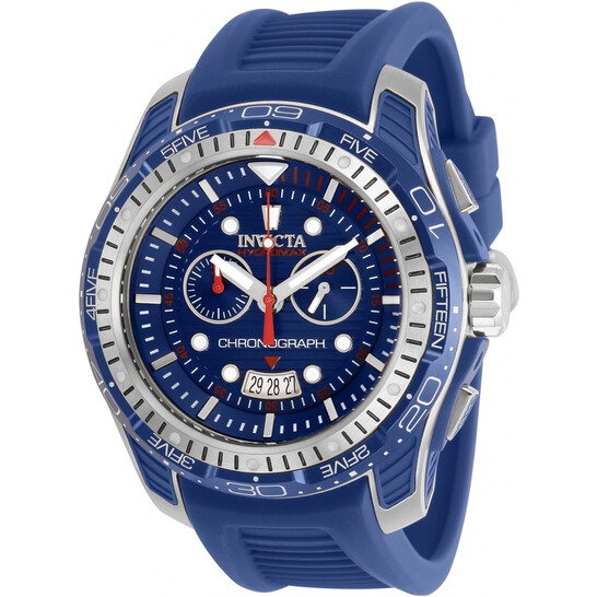 Invicta Hydromax Chronograph Quartz Blue Dial Men's Watch 29572   Joma Shop