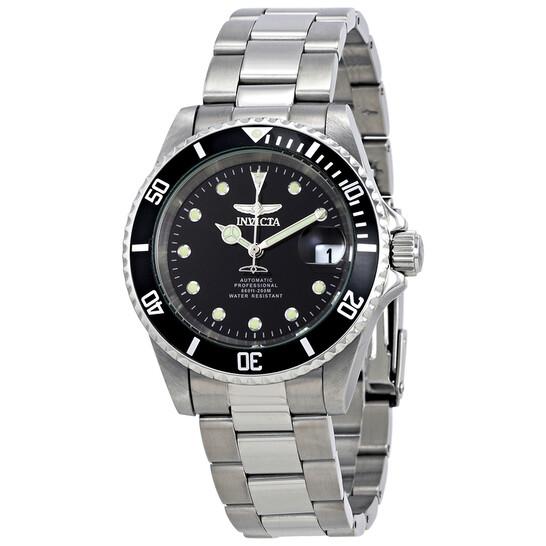 Invicta Pro Diver Automatic Black Dial Men's Watch 17044   Joma Shop