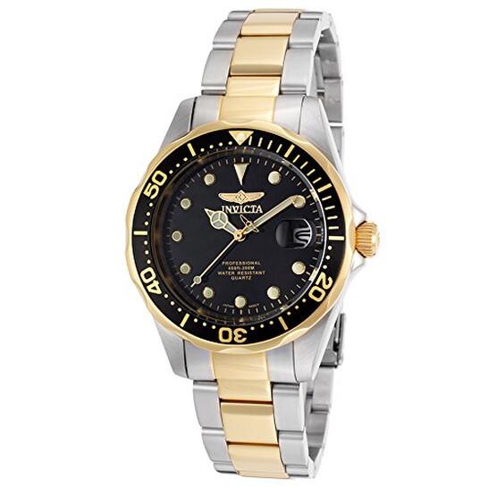 Invicta Pro Diver Black Dial Two-tone Men's Watch 17049 | Joma Shop