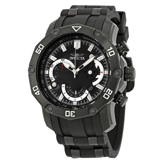 Invicta Pro Diver Chronograph Black Dial Men's Watch 22799   Joma Shop