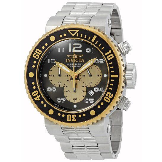 Invicta Pro Diver Chronograph Black Dial Men's Watch 25075   Joma Shop