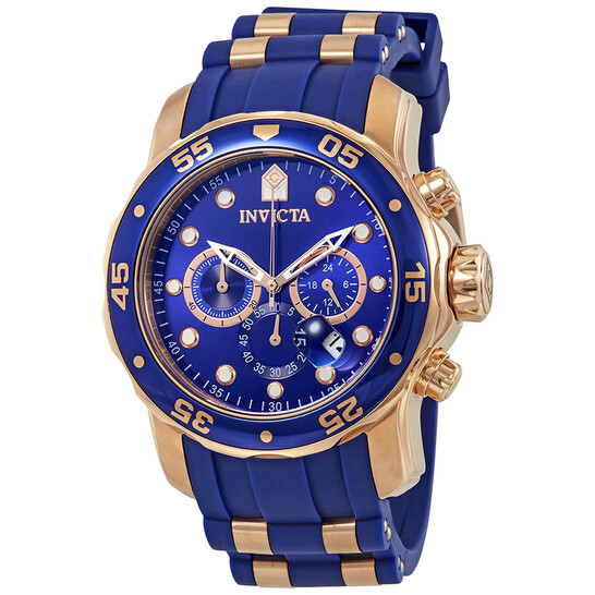 Invicta Pro Diver Chronograph Blue Dial Men's Watch 18197 | Joma Shop