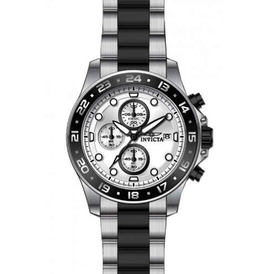 Invicta Pro Diver Chronograph Silver Dial Two-tone Men's Watch 15209 | Joma Shop