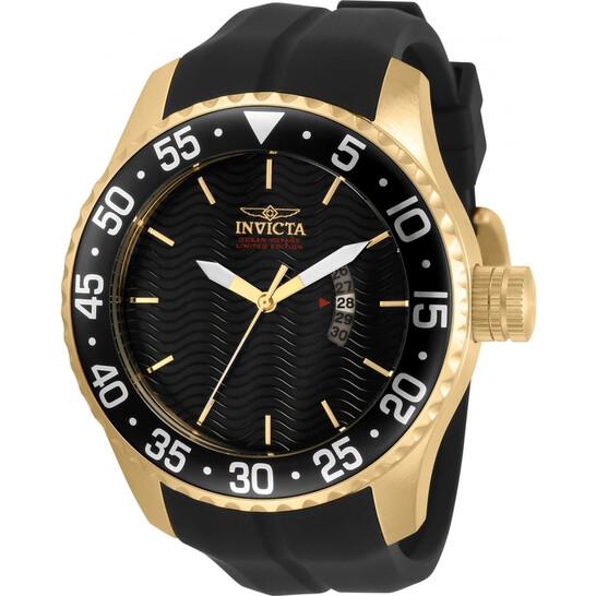 Invicta Pro Diver Quartz Black Dial Black Silicone Men's Watch 32660 | Joma Shop
