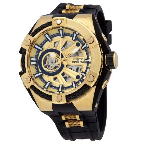 Invicta S1 Rally Automatic Gold Dial Open Heart Men's Watch 28857 | Joma Shop