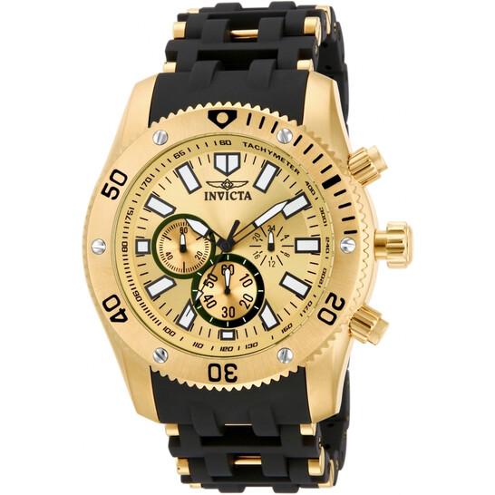 Invicta Sea Spider Chronograph Quartz Rose Gold Dial Men's Watch 14861   Joma Shop