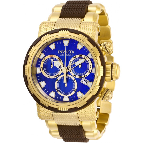 Invicta Specialty Chronograph Quartz Blue Mother of Pearl Dial Men's Watch 28802 | Joma Shop