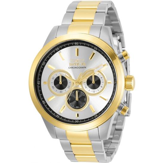 Invicta Specialty Chronograph Quartz Silver Dial Men's Watch 30982 | Joma Shop