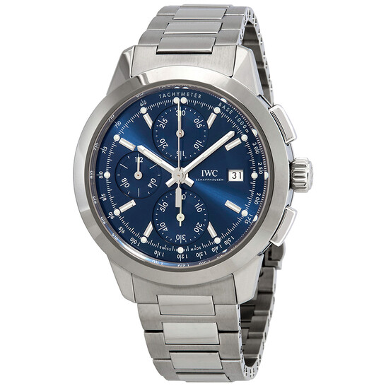 Iwc Ingenieur Chronograph Automatic Blue Dial Men's Watch IW380802 | Joma Shop