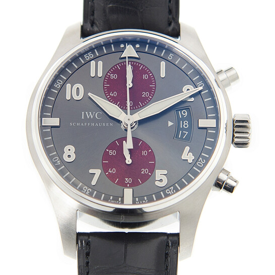 Iwc Pilot Spitfire Silver Dial Chronograph Dial Automatic Men's Watch IW387810   Joma Shop
