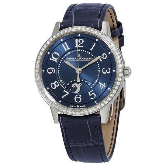 Jaeger Lecoultre Rendez-Vous Automatic Diamond Blue Dial Ladies Watch Q3448480 | Joma Shop