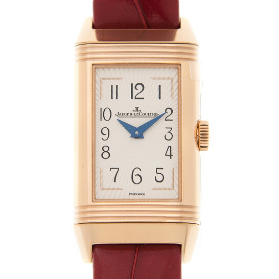 Jaeger Lecoultre Reverso Hand Wind White Dial Ladies Watch Q3352420 | Joma Shop